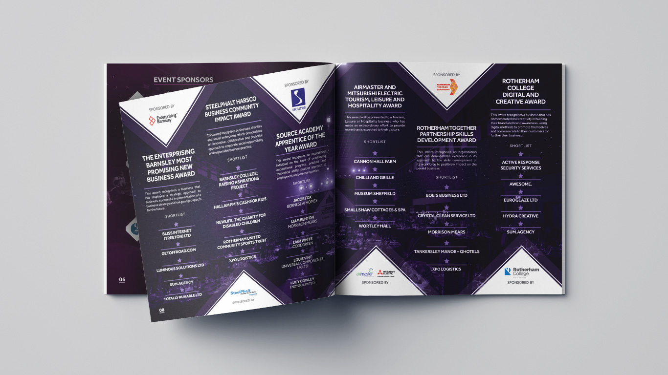 Barnsley and Rotherham Chamber of Commerce Brochure
