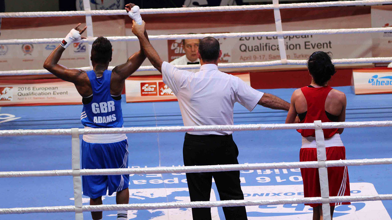 GB Boxing - GBR Adams